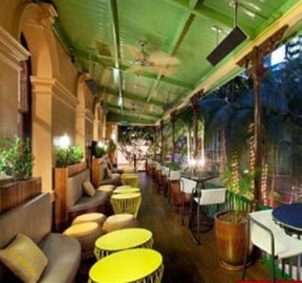 Cocktail Bar Smoking Balcony