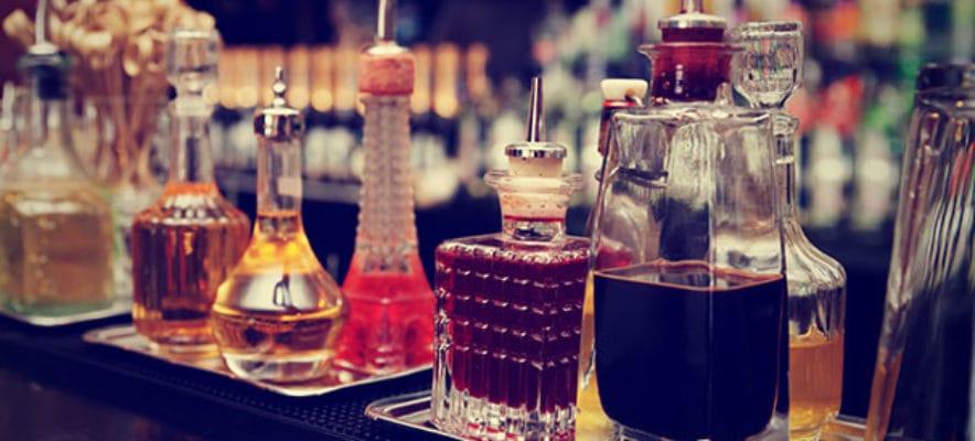 Cocktail Bar Premium Spirits